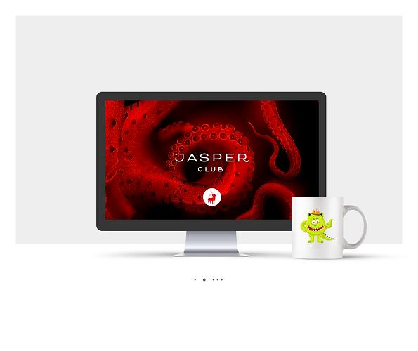 אתר Wix תדמיתי עבור Jasper