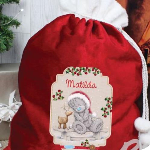 Red christmas sack