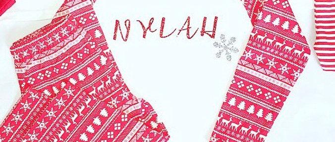Christmas Snowflake Pyjamas