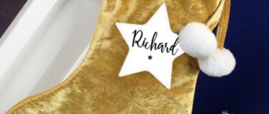 Gold stocking