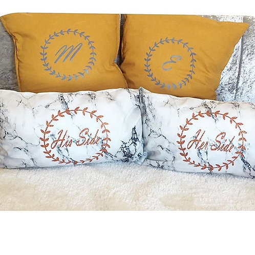 Marble Effect cushion cover