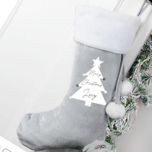 Silver stocking
