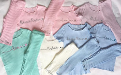 •_Ribbed loungewear ♥_•_How sweet are th