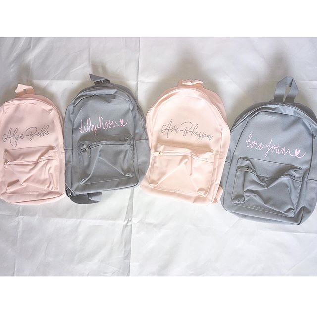 •_Backpacks ♥_•_Available in grey, black