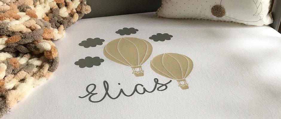 Hot Air Balloon Bedding