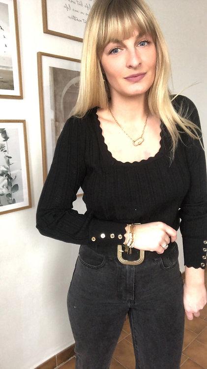 Pull Méliana noir