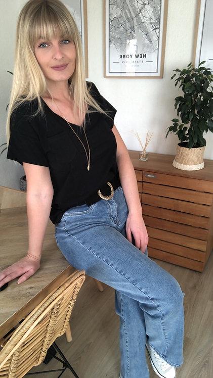 Tee shirt Molly noir