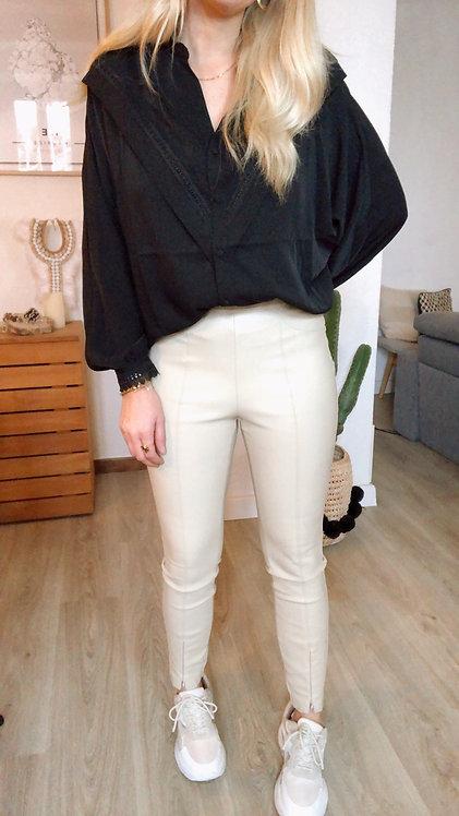 Pantalon Cassie écru