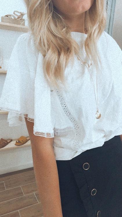 T-shirt Maé Blanc