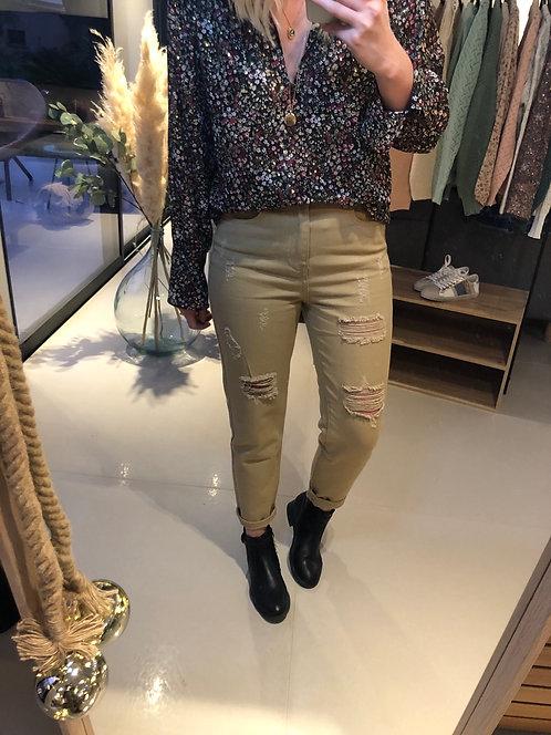 Pantalon Lindsay Beige