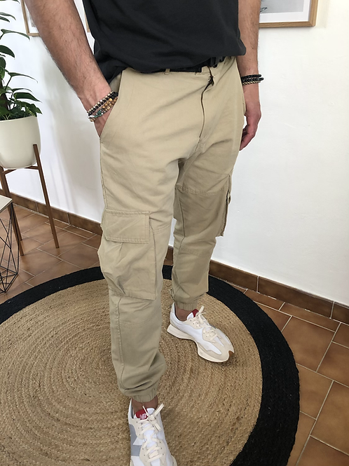 Pantalon Diego beige