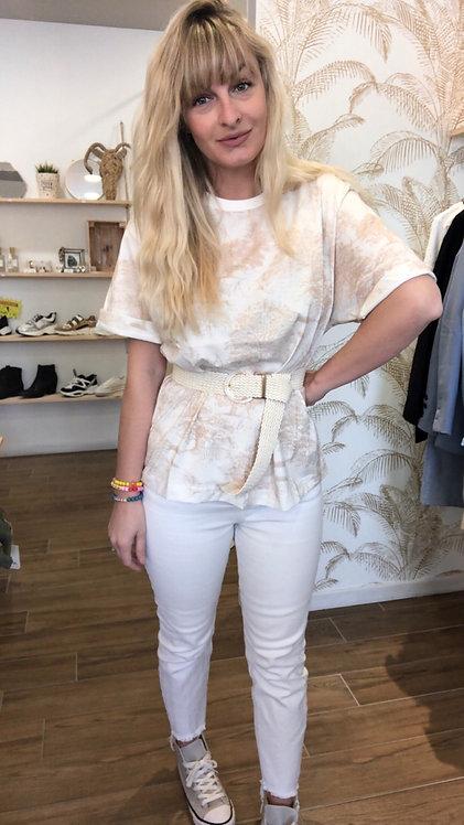 Tee shirt Paloma beige