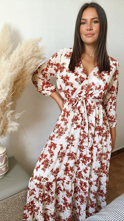 Robe longue Judy rouge