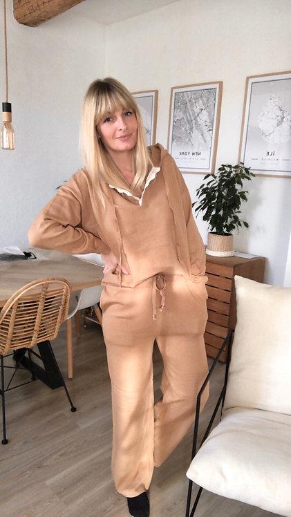 Pantalon Lucia camel