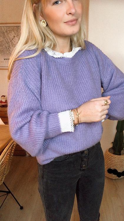 Pull Suzie violet