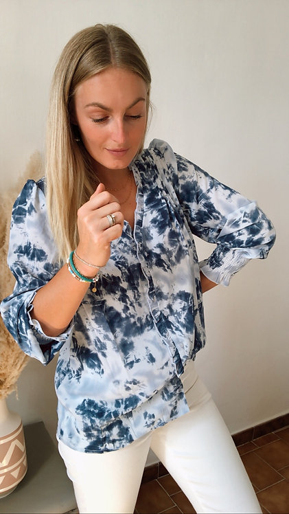 Chemise Tie bleu