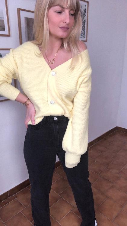Gilet Léno jaune