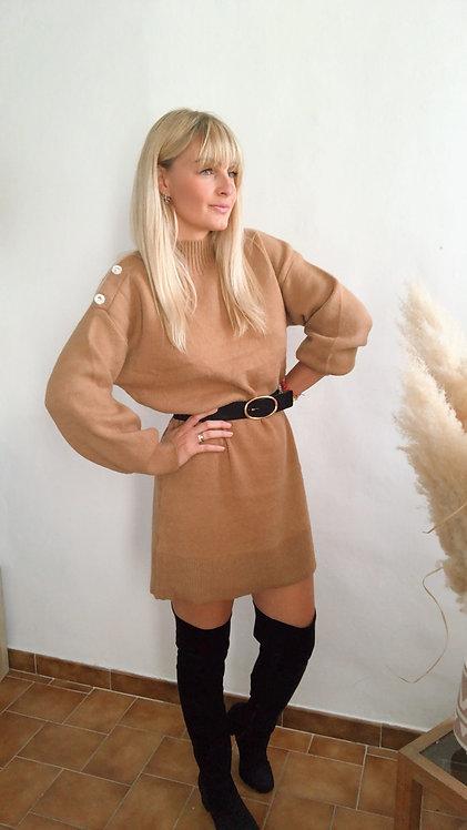 Robe pull Noéla choco