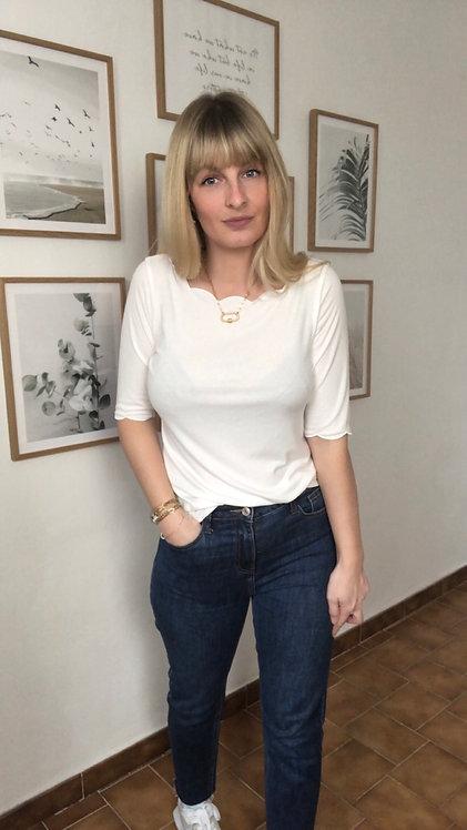 Tee shirt Scarlett blanc