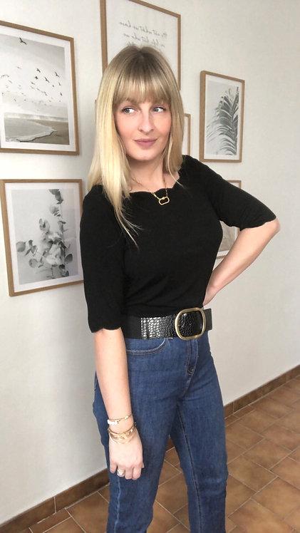 Tee shirt Scarlett noir