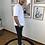 Thumbnail: Tee shirt Aaron blanc