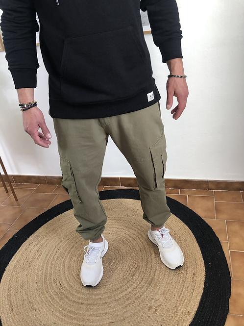 Pantalon Diego kaki