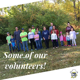 Thank You Nature Center Cleanup Volunteers