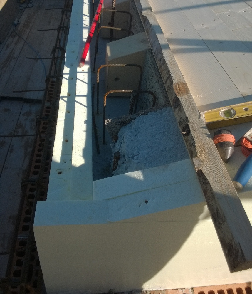 taglio termico giunzione tetto