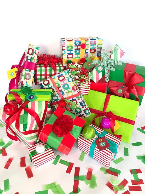 12 Days of Christmas Countdown Box