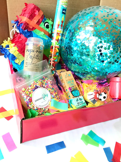 5 Day Birthday Countdown Box for Boys