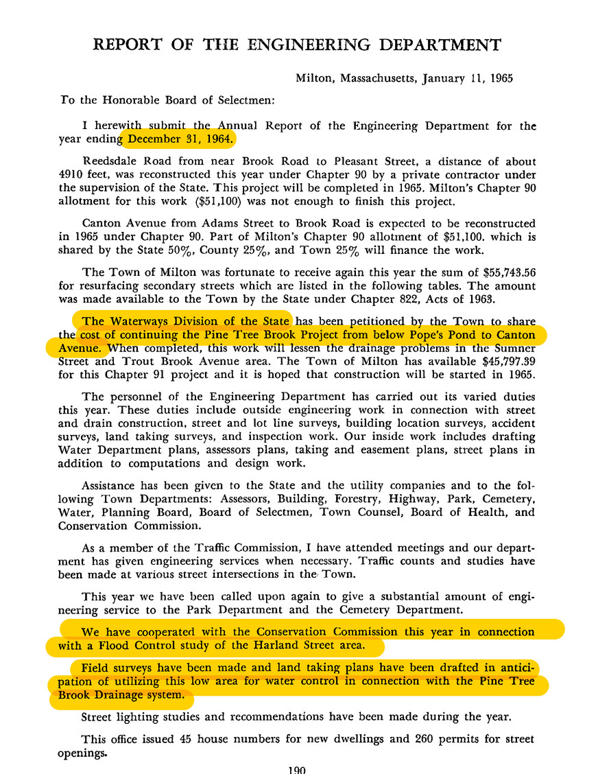 Annual Report of 1965