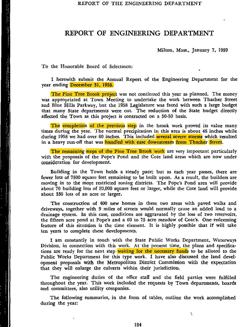 Annual Report of 1958