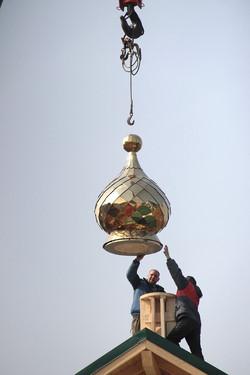Освящение куполов