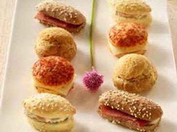 Sandwichs mini gourmands 20 pièces