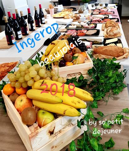 Le Beaujolais nouveau chez INGEROP
