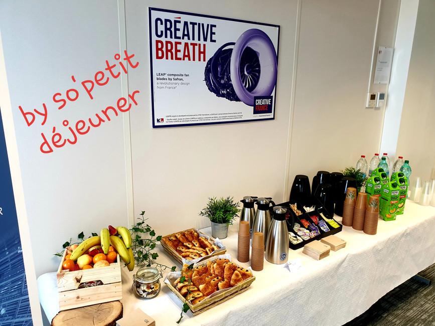 Petit déjeuner chez BUSINESS FRANCE
