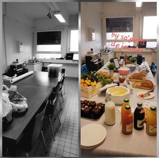 Petit déjeuner à Faculté de médecine Marseille