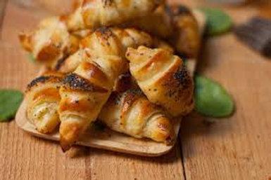 Croissants salés artisanaux