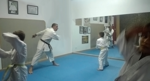 Primera clase Fudoshin Dojo