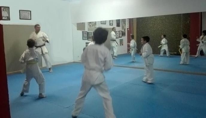 Primera classe Fudoshin Dojo
