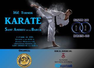 16º TORNEO KARATE KUSHINKAI SANT ANDREU DE LA BARCA