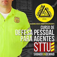 Curso de Defesa Pessoal pra agentes da STTU