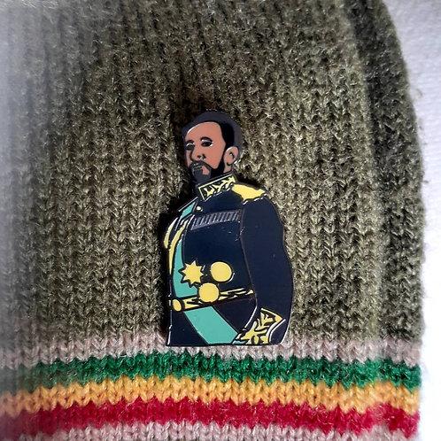 Selassie Enamel Pin