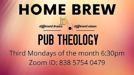 Home Brewed Pub Theology