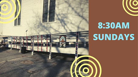 Sunday Morning Outdoor Worship