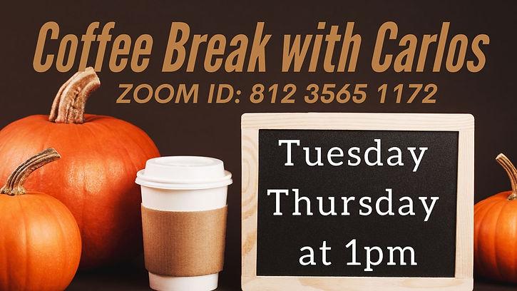Coffee Break with Carlos