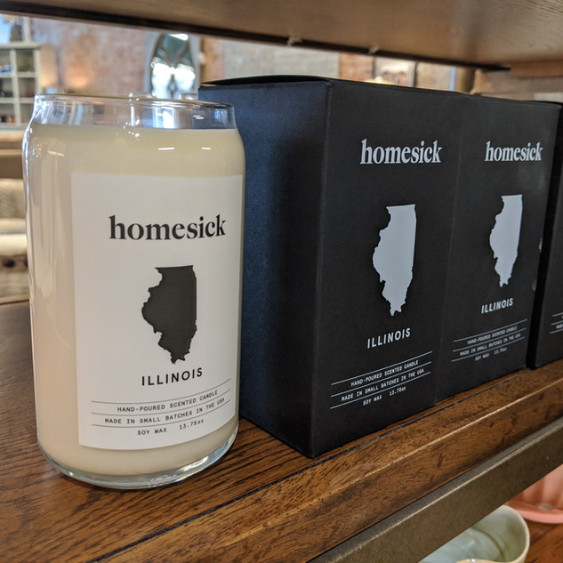 Homesick Illinois candles
