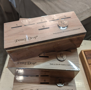 Handcrafted wood games