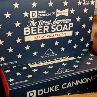Duke Cannon Budweiser soap