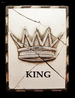 King (silver)
